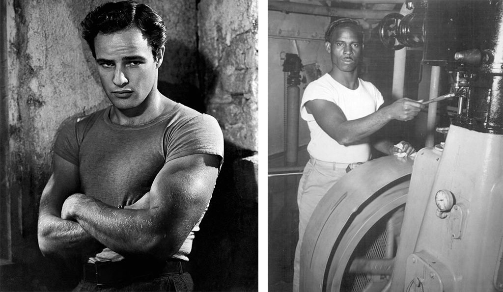 Marlon Brando wore one in A Streetcar Named Desire , US Merchant Marine sailor in 1944