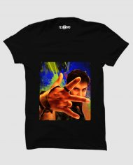 Sketch Vikram tshirt black