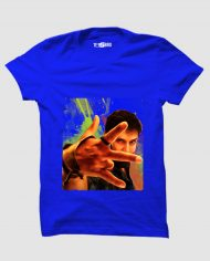 Sketch Vikram tshirt blue